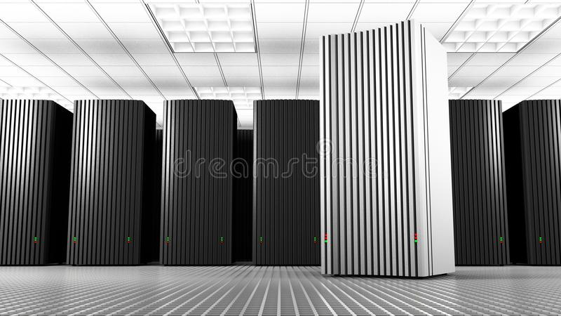 White Knowledge Tower royalty free stock photo