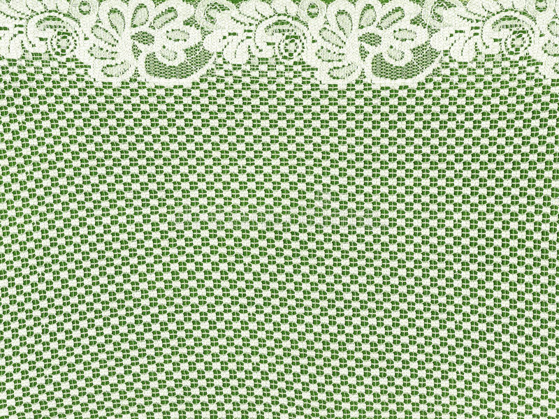 Download White Lace Border On Green Background Stock Image - Image: 20320321