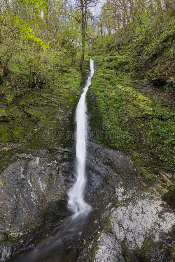 Download White Lady Waterfall stock photo. Image of relax, rocks - 54390302
