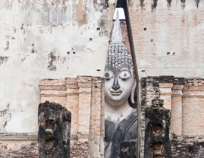 White large Buddha statue. royalty free stock photography