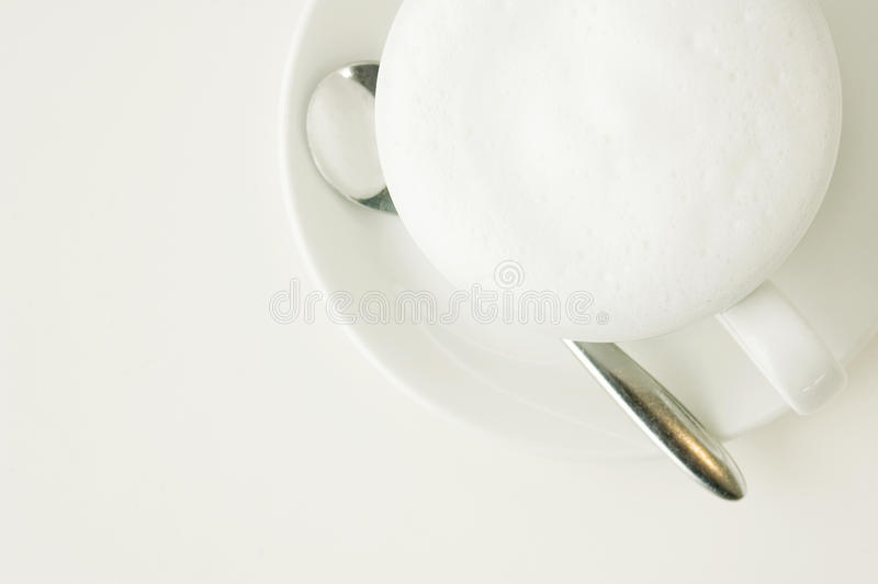 White Latte Royalty Free Stock Photography