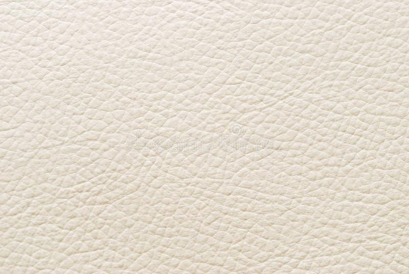 White leather. stock photo