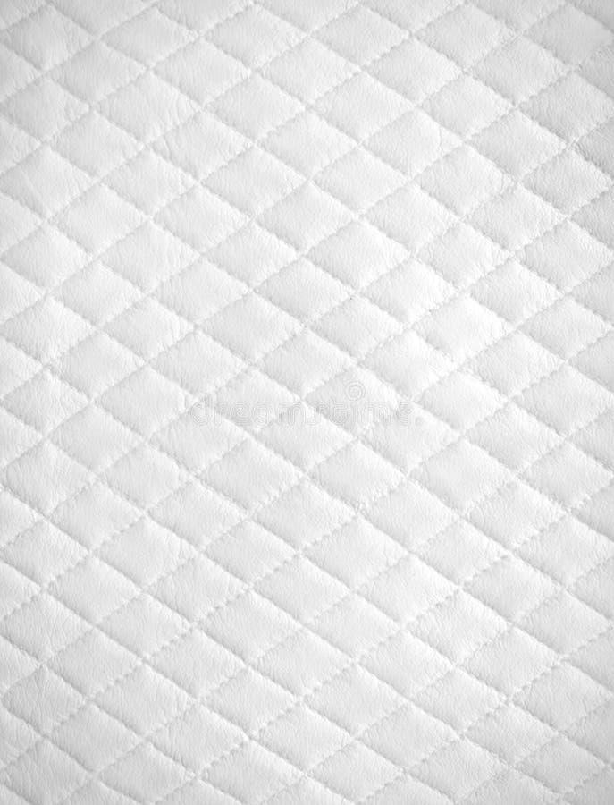 White leather background royalty free stock image