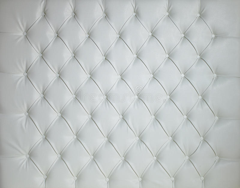 Download WHITE LEATHER PADDED STUDDED LUXURY BACKGROUND Stock Photo - Image: 30357140