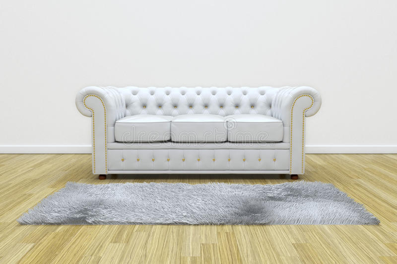 White Leather Sofa Unique With Side