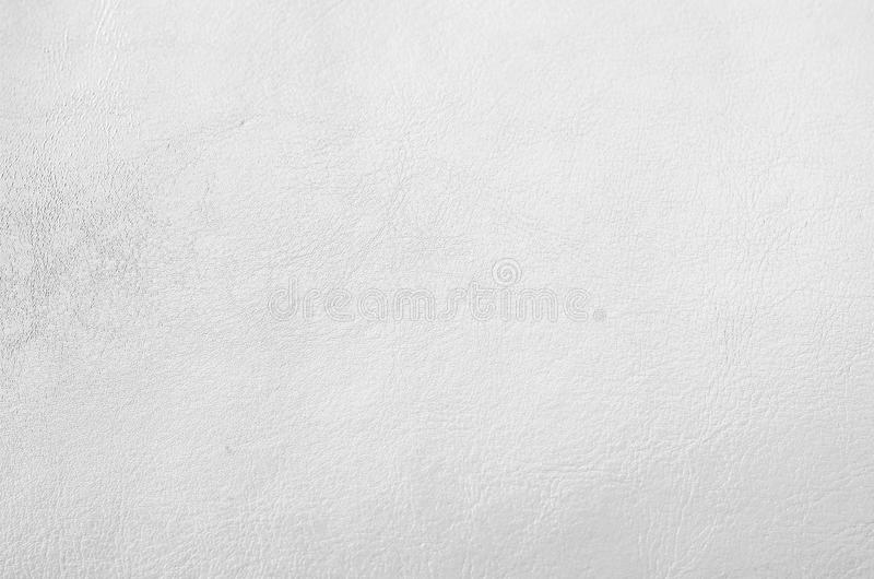 White leather texture background. White color leather texture background stock photography