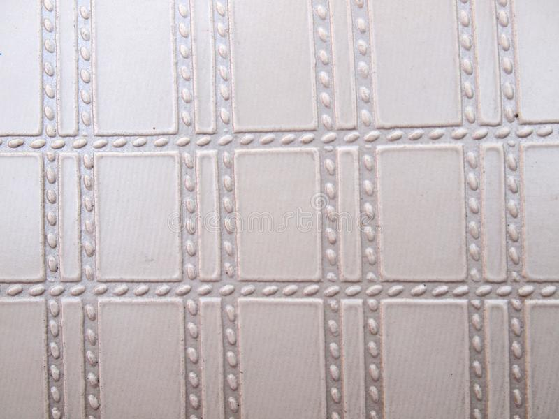 White leather texture. Close up royalty free stock photography