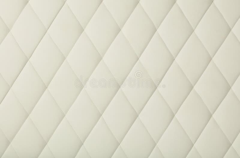 Diamond Upholstery Bed Head Pink Blanket Stock Photo