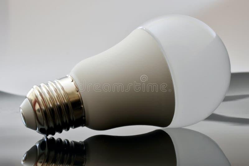 White led light bulb stock images