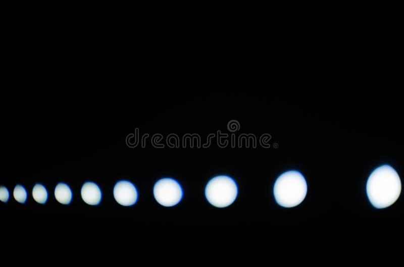White led`s light royalty free stock photography