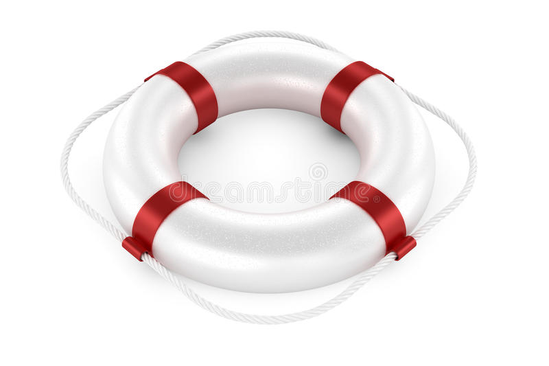 Download White life preserver stock illustration. Image of protection - 34955322