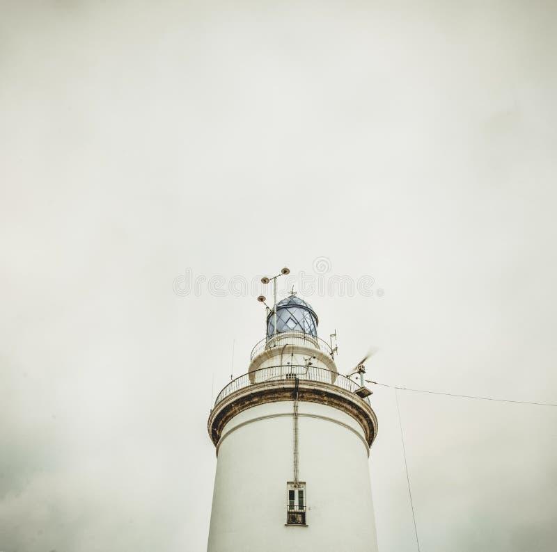 White Light House Under White Sky Free Public Domain Cc0 Image