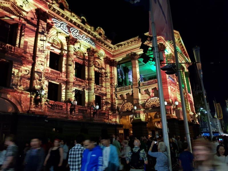White light Melbourne stock photos