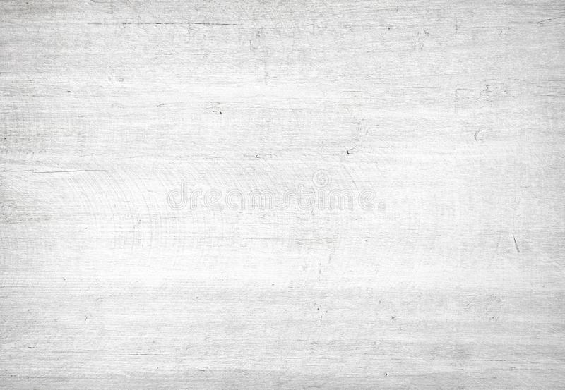 White light scratched wooden cutting, chopping board. Wood texture. royalty free stock image