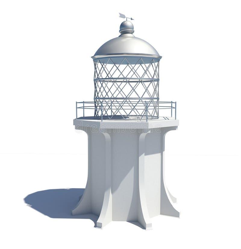Free White Lighthouse Royalty Free Stock Image - 7020956