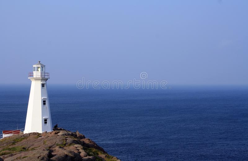 White Lighthouse Across Body Of Water Free Public Domain Cc0 Image