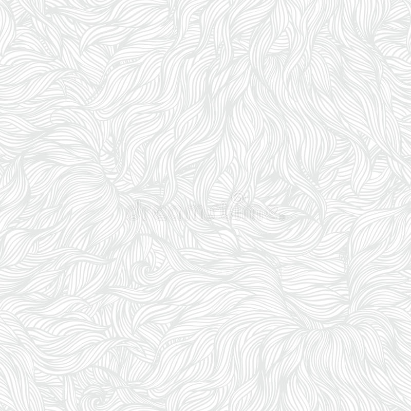 White linear texture in vintage style. With ornament imitating frost pattern on windows for Christmas and holiday decor or wedding invitation. Seamless vector vector illustration