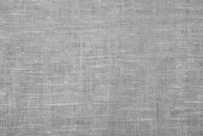 White linen cloth. Natural background - white linen cloth stock image