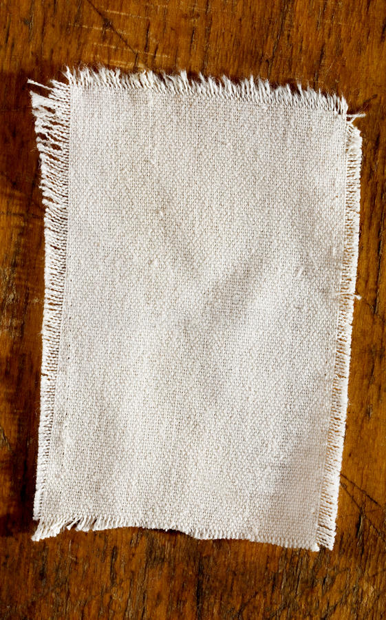 Download White Linen Light On The Old Board Stock Image - Image: 12749349