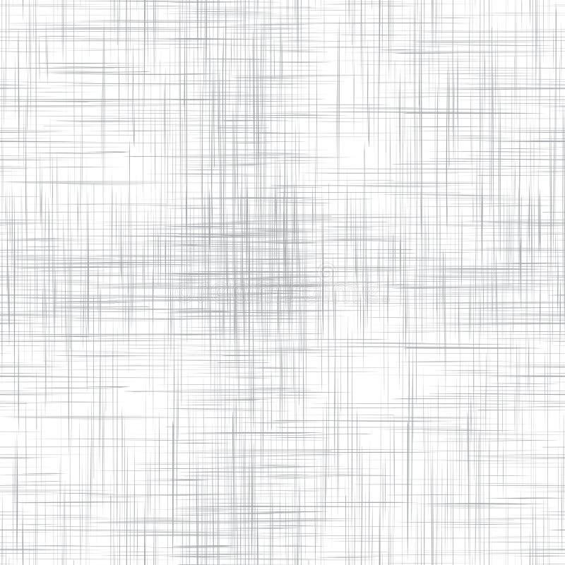 White linen seamless texture. EPS10 vector illustration royalty free illustration