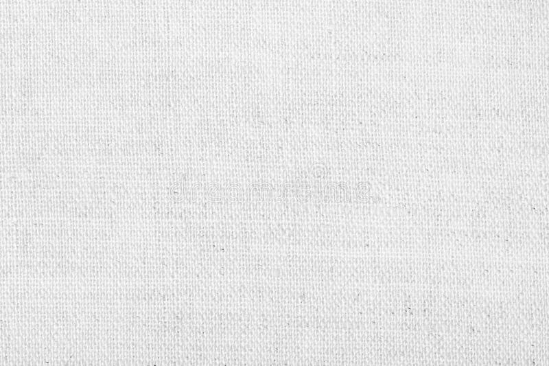 White linen texture for the background stock photography