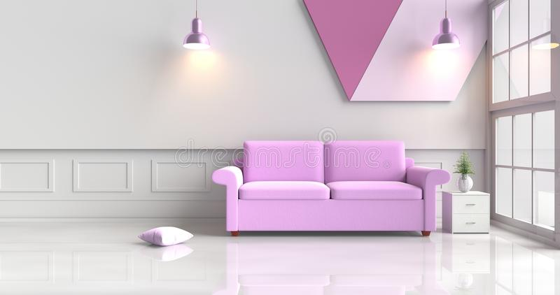 Fantastic Purple And White Living Room Photo - Living Room Designs ...