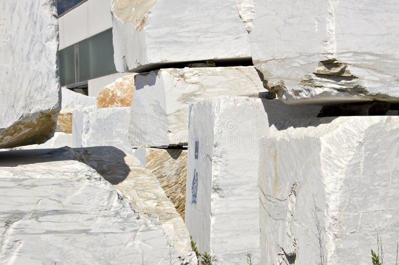 Download White marble blocks stock photo. Image of rocks, machinery - 5983742