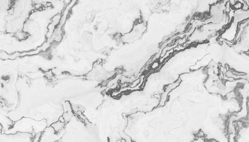 White curly marble royalty free illustration