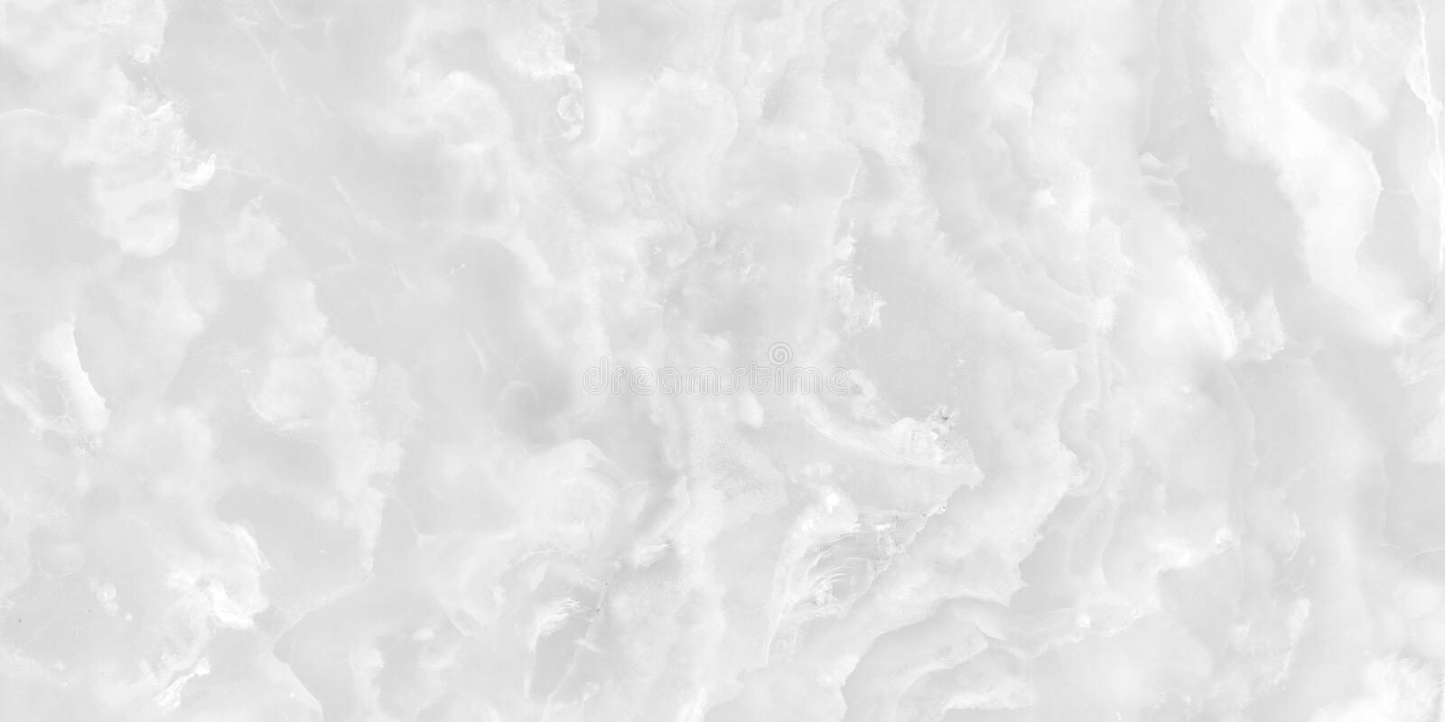 White marble pattern with curly soft veins. Abstract texture and background. 2D illustration royalty free stock photography