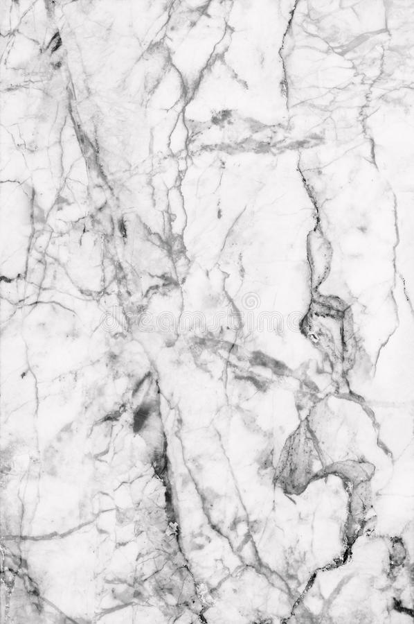 White marble patterned texture background. Marbles of Thailand, abstract natural marble black and white (gray) for design royalty free stock photos