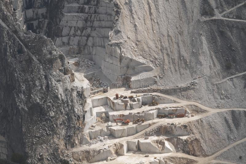 Download White marble quarry stock photo. Image of tuscany, construction - 16806016