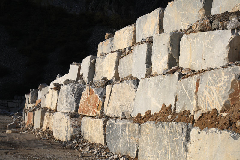 Download White Marble Quarry Stock Images - Image: 6798844