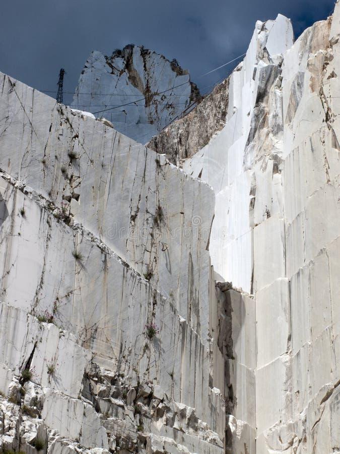 Download White Marble Quarry In Marina Di Carrara Stock Image - Image: 9642201