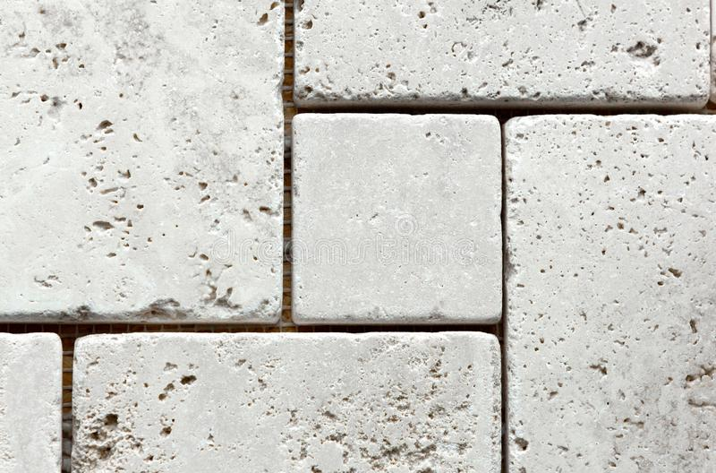 White marble from squares. As a background stock images