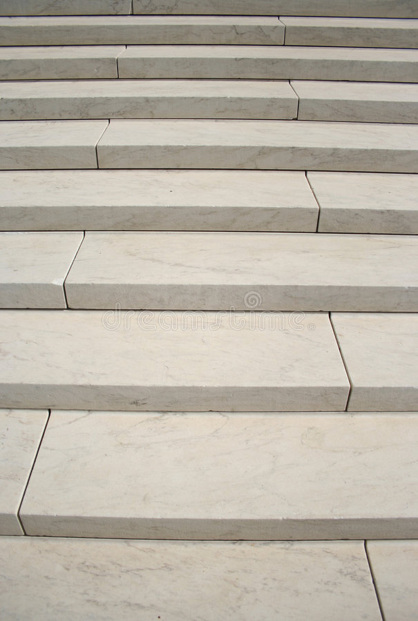 White marble steps. At Supreme court Washington DC royalty free stock image