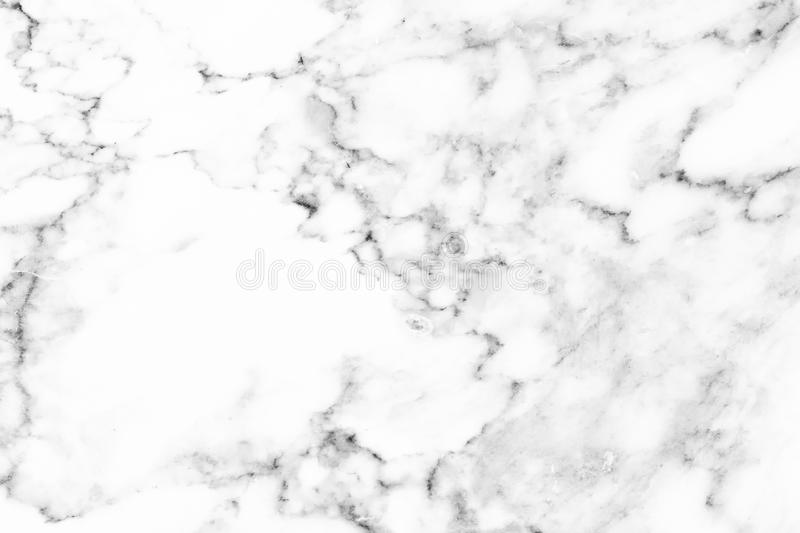 White marble, stone pattern texture used design for background stock photo