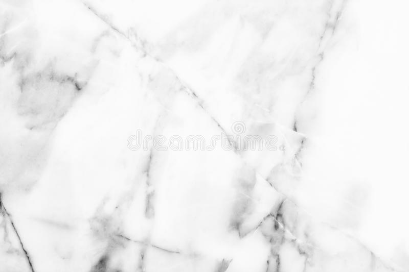 White marble, stone pattern texture used design for background stock photography