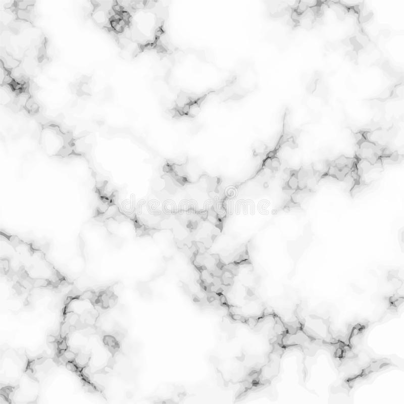 White marble texture. Abstract modern vector background. royalty free illustration