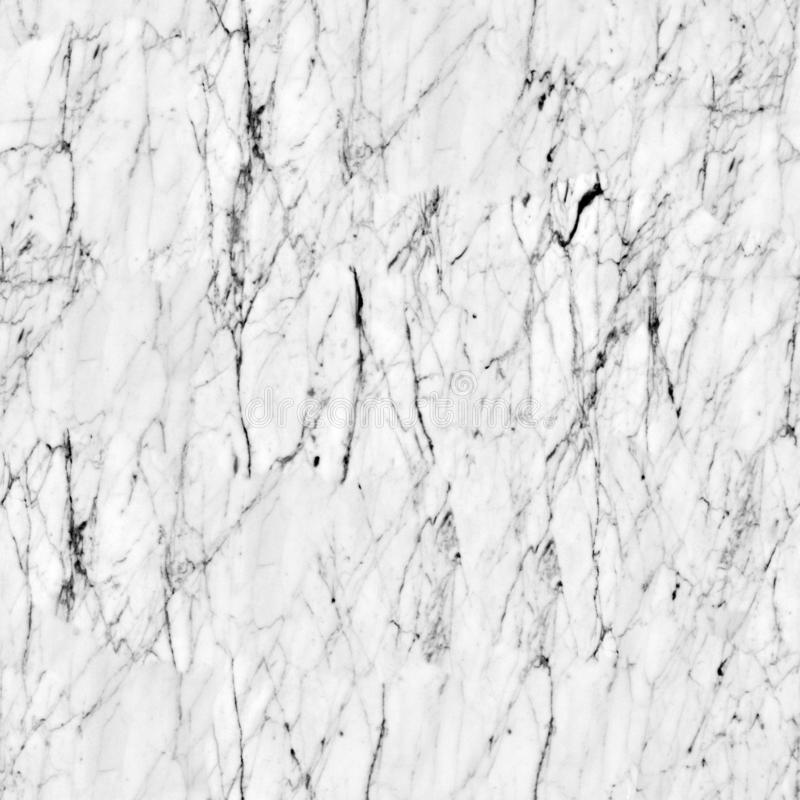 White marble texture abstract  pattern. Seamless square background, tile ready. stock images