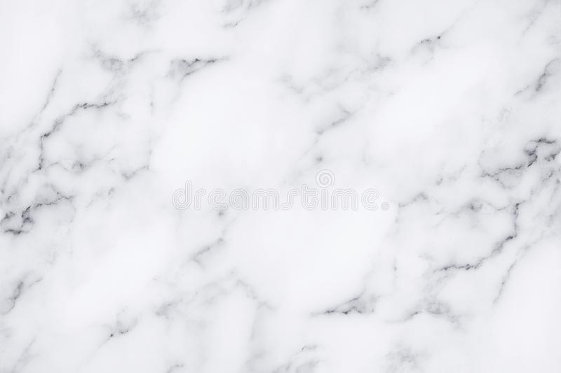 White marble texture and background for design pattern artwork. royalty free stock image