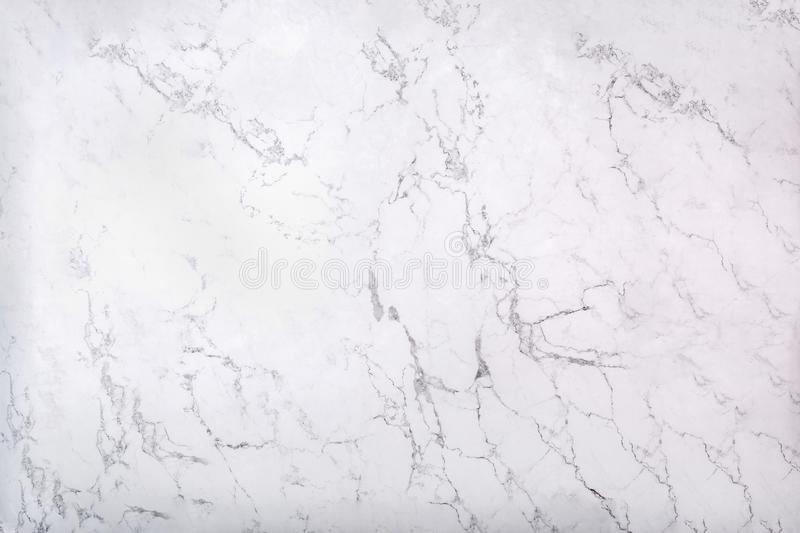 White marble texture with natural pattern as background stock photography