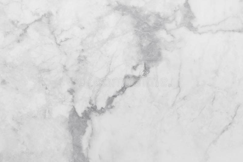 White marble texture in natural pattern, White stone floor. royalty free stock photos