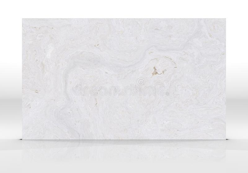 White marble Tile texture. White marble tile standing on the white background with reflections and shadows. Texture for design. 2D illustration. Natural beauty vector illustration