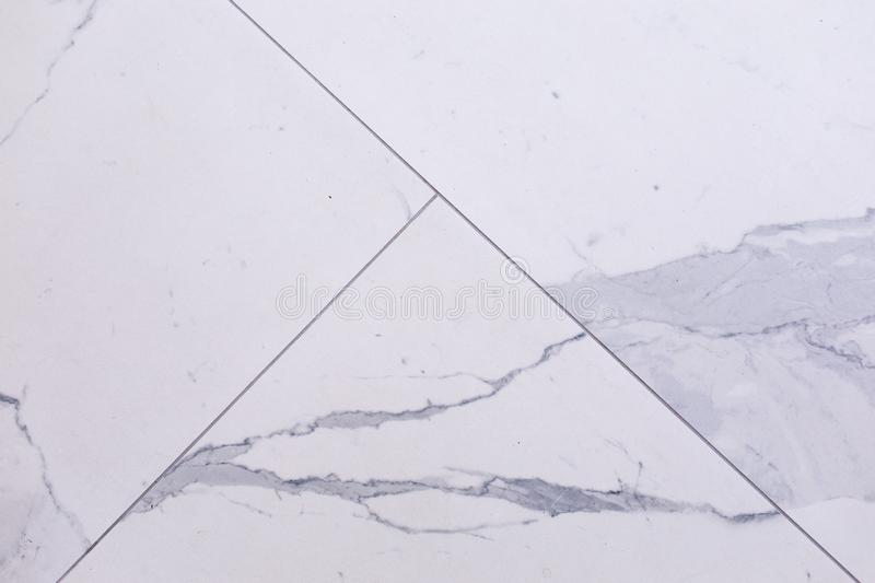 White Marble Wall Texture Background. seamless marble tile wall pattern , for Interiors design royalty free stock images