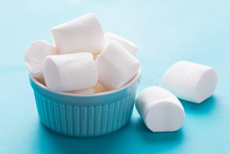 White marshmallows for roasting royalty free stock image