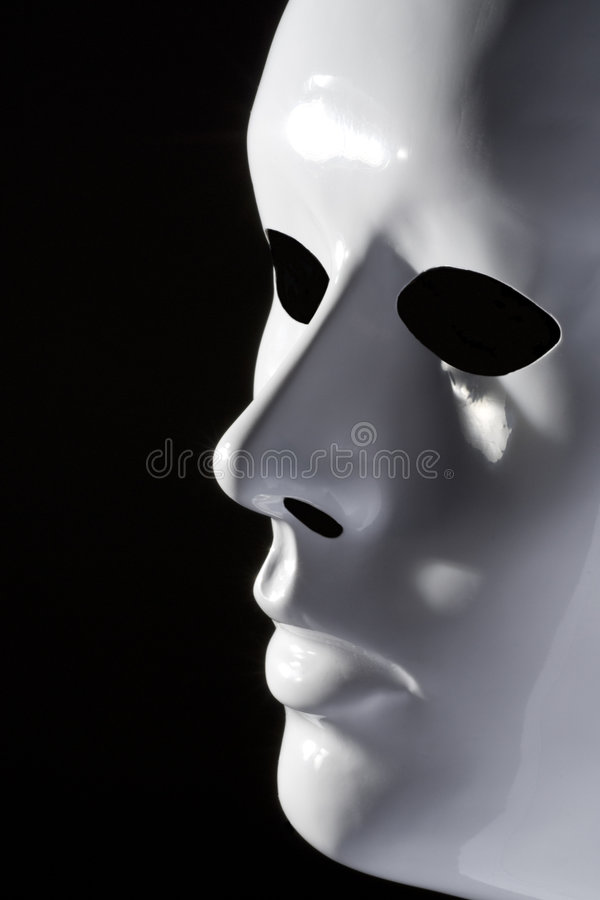 Download White mask stock photo. Image of white, supernatural, face - 3731264