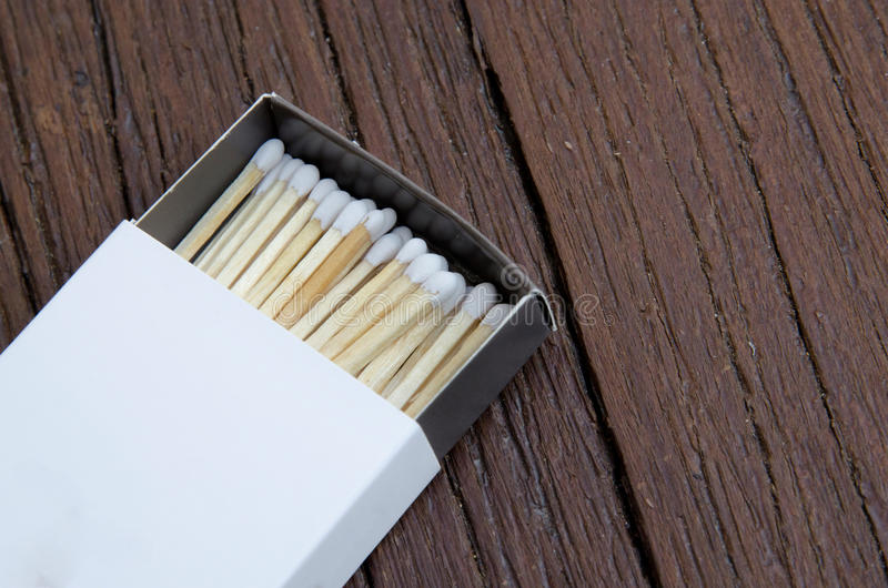 White matches stock photography
