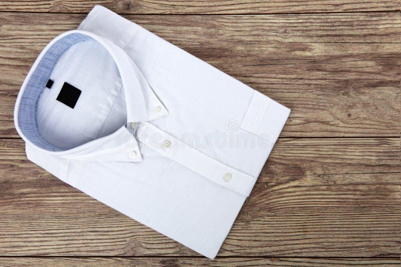 White Mens Shirt stock image