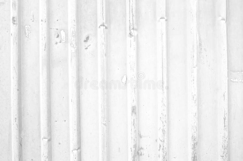 White metal grunge fence. Background royalty free stock photos