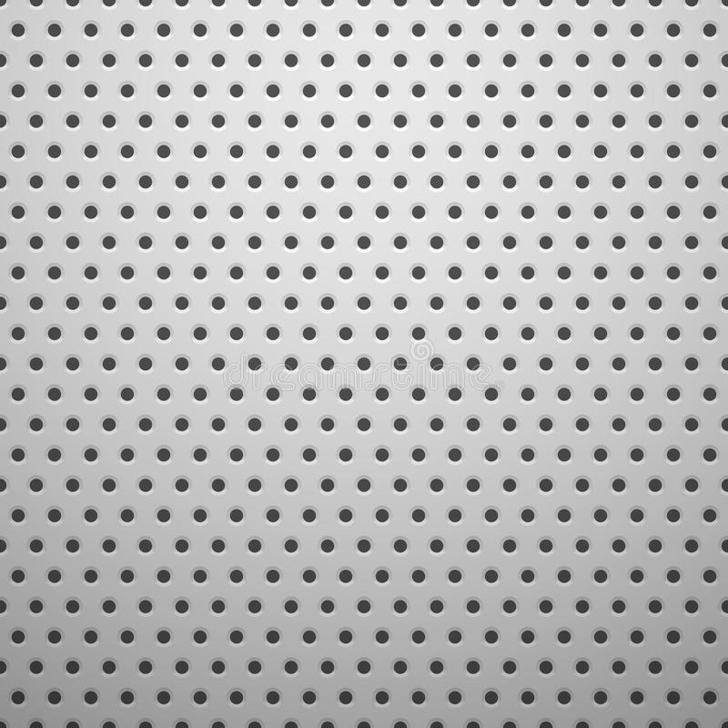White Metal Texture With Holes Stock Image Image 35955911